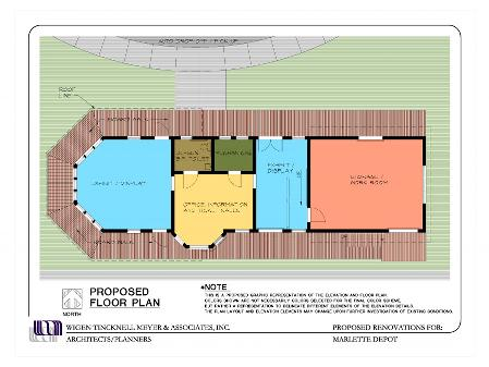 Depot Proposed Floor Plan